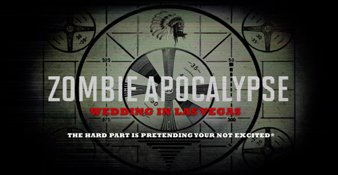 End of The World Wedding in Las Vegas