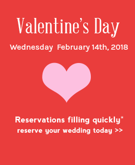 Valentine S Day Weddings In Las Vegas 2018